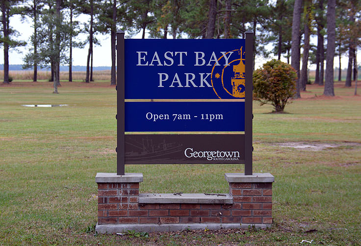 East bay Park in Georgetown, SC